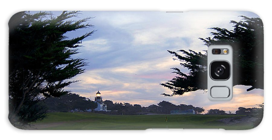 Monterey Bay Galaxy S8 Case featuring the photograph Monterey Golf Course by Christopher Koski