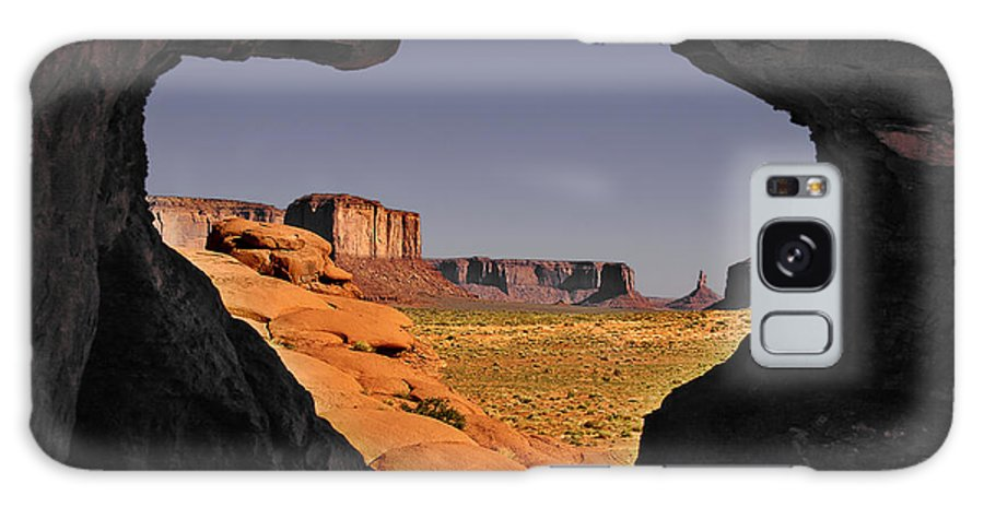 Monument Galaxy S8 Case featuring the photograph Monument Valley - The Untamed West by Christine Till