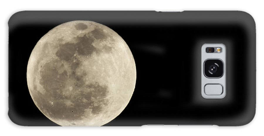 Moon Galaxy S8 Case featuring the photograph Moon 2 by Kevin Huang