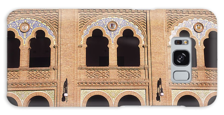 Spain Galaxy S8 Case featuring the photograph Moorish Arches Madrid by James Brunker