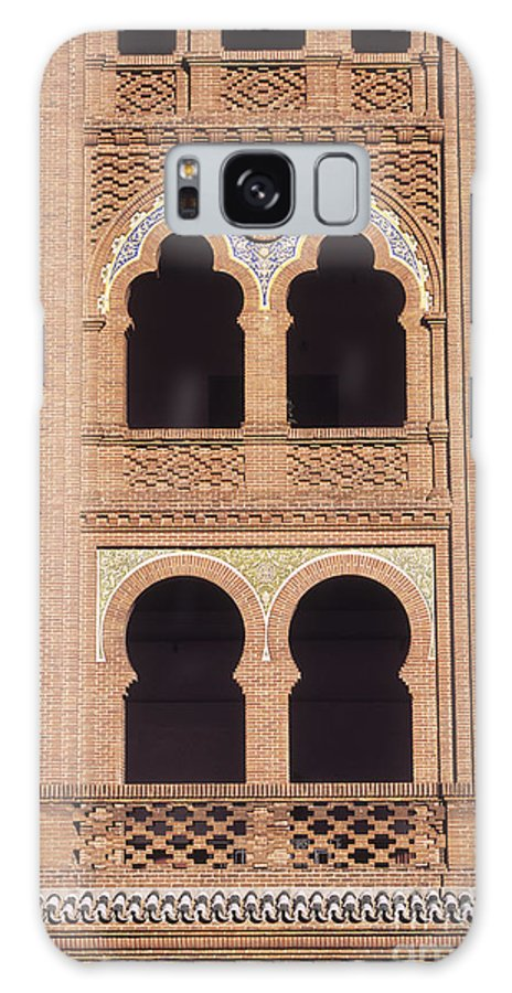 Spain Galaxy S8 Case featuring the photograph Moorish Windows Madrid by James Brunker