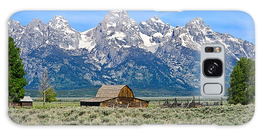 Grand Teton National Park Galaxy S8 Case featuring the photograph Mormon Row by Greg Norrell