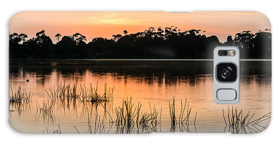 Sunrise Galaxy S8 Case featuring the photograph Morning Calm by Heather Provan