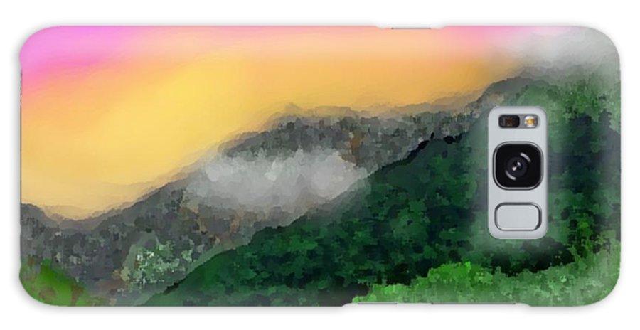Landscape Galaxy S8 Case featuring the digital art Morning by Dr Loifer Vladimir
