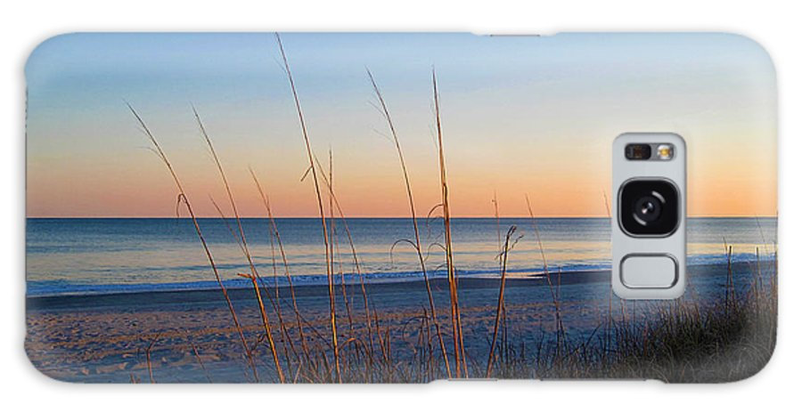 Morning Has Broken Galaxy S8 Case featuring the photograph Morning Has Broken At Myrtle Beach South Carolina by Susanne Van Hulst
