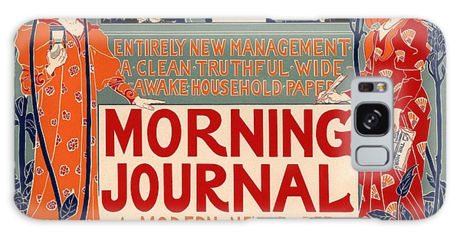 Poster Galaxy S8 Case featuring the photograph Morning Journal by Gianfranco Weiss