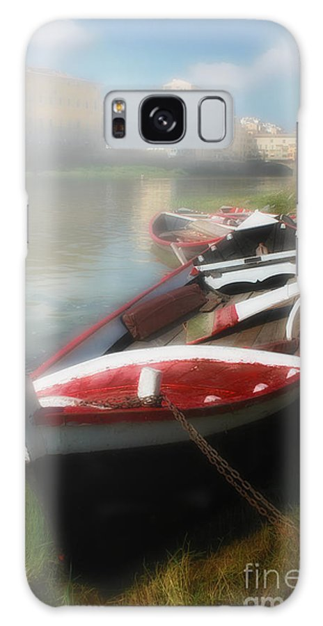 Mist Galaxy S8 Case featuring the photograph Morning Mist On The Arno River Italy by Mike Nellums