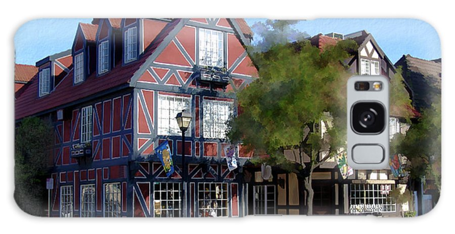Solvang Galaxy S8 Case featuring the photograph Morning On 2nd Street Solvang California by Kurt Van Wagner