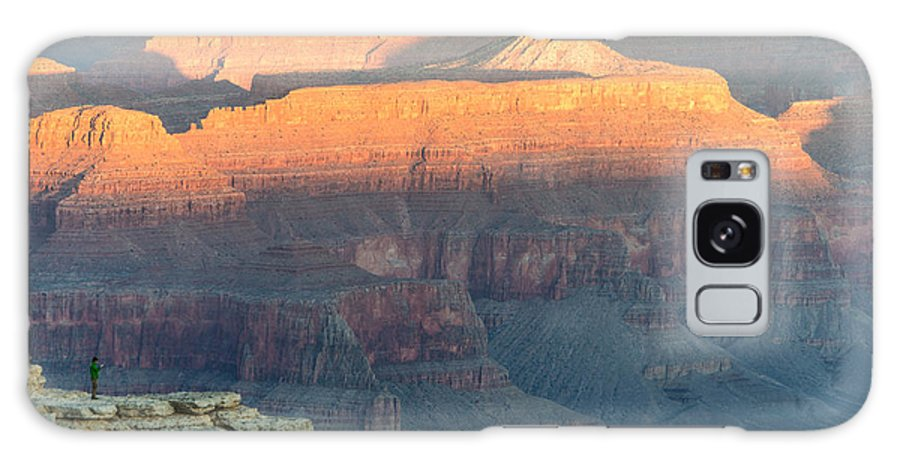 Grand Canyon Galaxy S8 Case featuring the photograph Morning Solitude by William Beverly