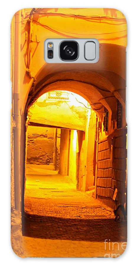 Alley Way Galaxy S8 Case featuring the photograph Moroccan Gold by Michael Cinnamond