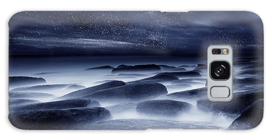 Night Galaxy Case featuring the photograph Morpheus kingdom by Jorge Maia
