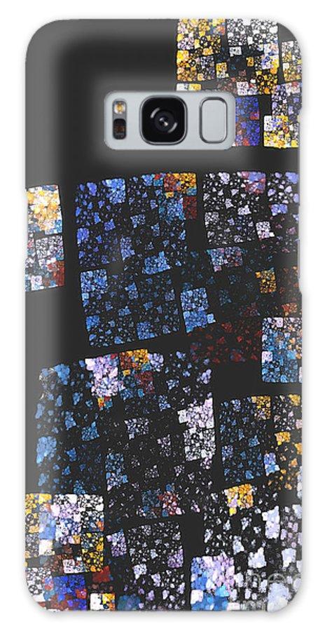 Mosaic Galaxy S8 Case featuring the digital art Mosaic 126-02-13 Marucii by Marek Lutek