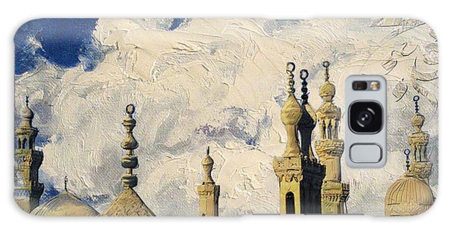 Mosque Madrassa Of Sultan Hassan Galaxy S8 Case featuring the painting Mosque-madrassa Of Sultan Hassan by Corporate Art Task Force