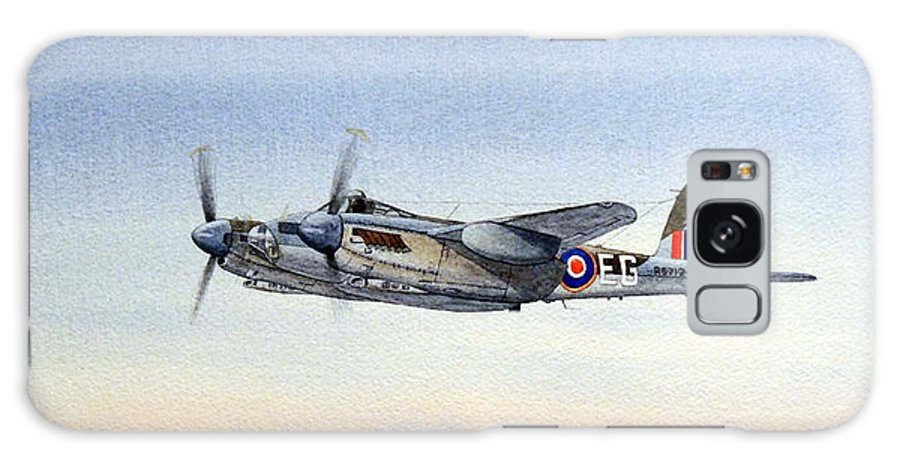 Mosquito Aircraft Galaxy S8 Case featuring the painting Mosquito Aircraft by Bill Holkham