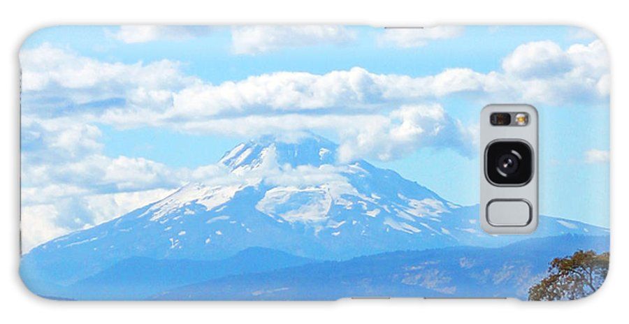 Mount Hood Galaxy S8 Case featuring the photograph Mount Hood In The Clouds by Michael Johnk
