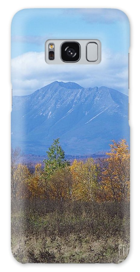 Mount Katahdin Galaxy S8 Case featuring the photograph Mount Katahdin From Stacyville 2 by Joseph Marquis