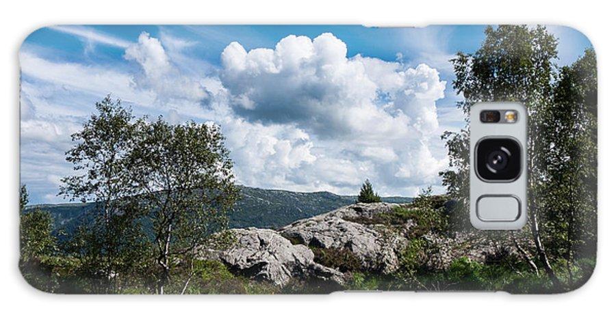 Lovstakken Galaxy S8 Case featuring the photograph Mount Lovstakken by Hakon Soreide