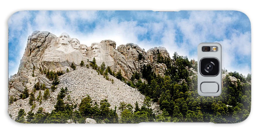 Mt. Rushmore Galaxy S8 Case featuring the photograph Mount Rushmore by Erika Weber