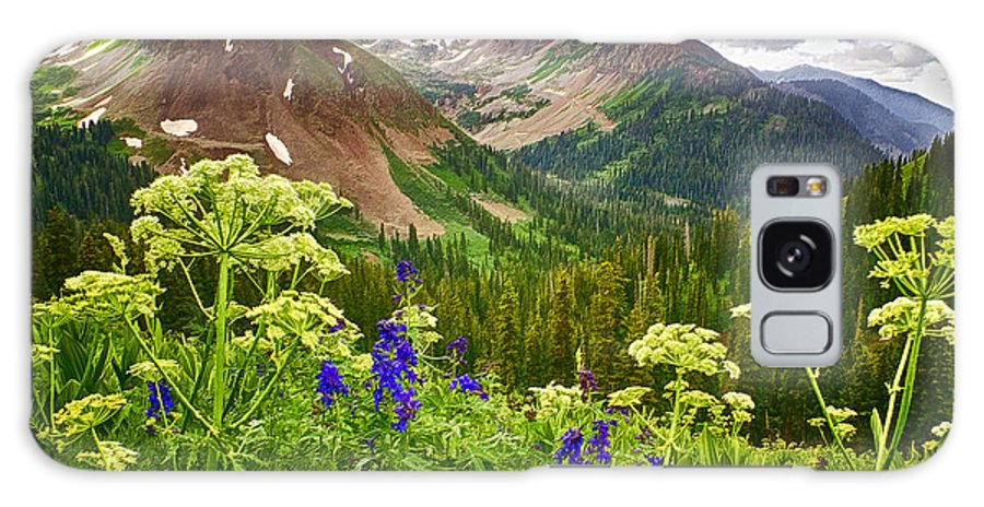 La Plata Mountains Galaxy S8 Case featuring the photograph Mountain Majesty by Priscilla Burgers