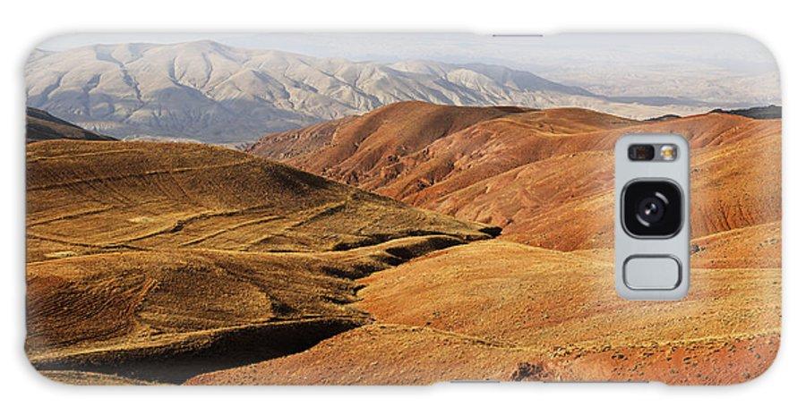 Iran Galaxy S8 Case featuring the photograph Mountain Scenary Near Zanjan In Iran by Robert Preston