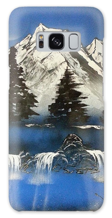 Wilderness Painting Galaxy S8 Case featuring the painting Mountain Splendor by Jim Beard