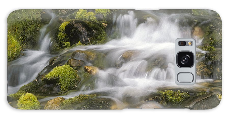 Water Galaxy S8 Case featuring the photograph Mountain Stream by Ralph Brunner