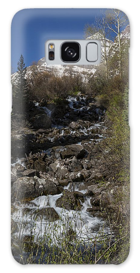 Maroon Galaxy S8 Case featuring the photograph Mountains Co Maroon Creek 2 by John Brueske