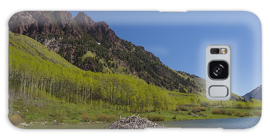 Sievers Galaxy S8 Case featuring the photograph Mountains Co Maroon Lake 4 by John Brueske