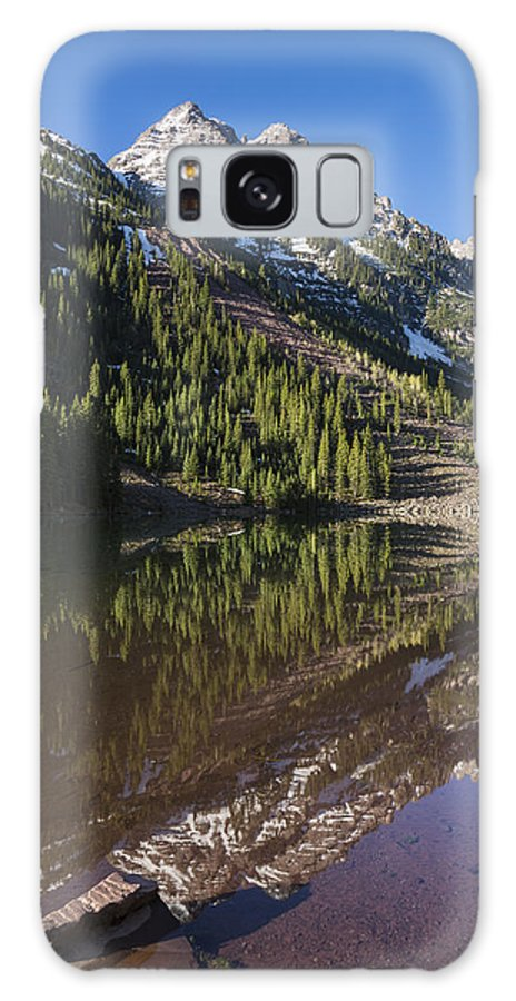 Pyramid Galaxy S8 Case featuring the photograph Mountains Co Pyramid 1 by John Brueske