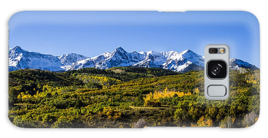 Aspens Galaxy S8 Case featuring the photograph Mountain's Gold by Kim Baker