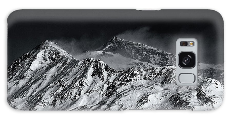 B&w Galaxy S8 Case featuring the photograph Mountainscape N. 5 by Roberto Pagani