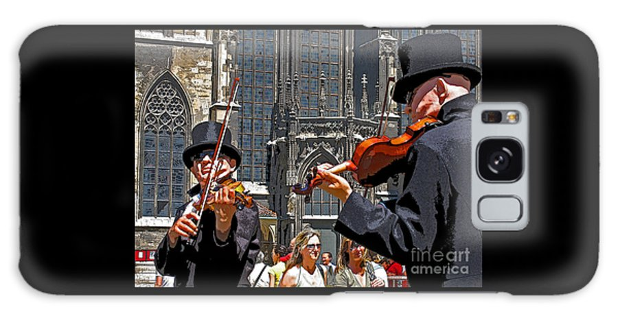 Buskers Galaxy S8 Case featuring the photograph Mozart In Masquerade by Ann Horn