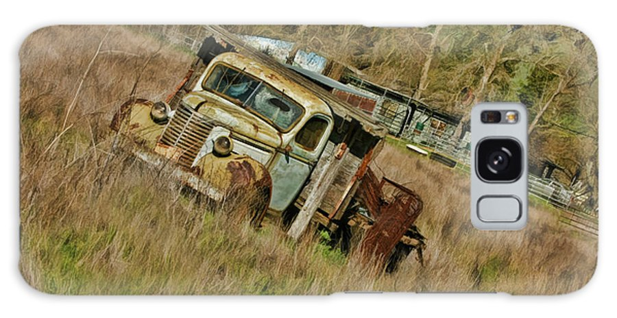 Truck Galaxy S8 Case featuring the photograph Mr Greenjeans Truck by Blake Richards