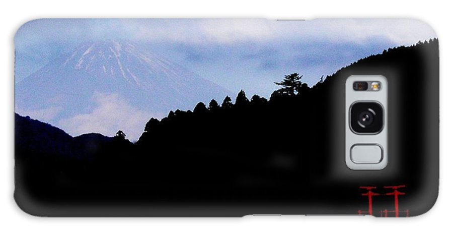 Mountain Galaxy S8 Case featuring the photograph Mt. Fuji by David and Mandy