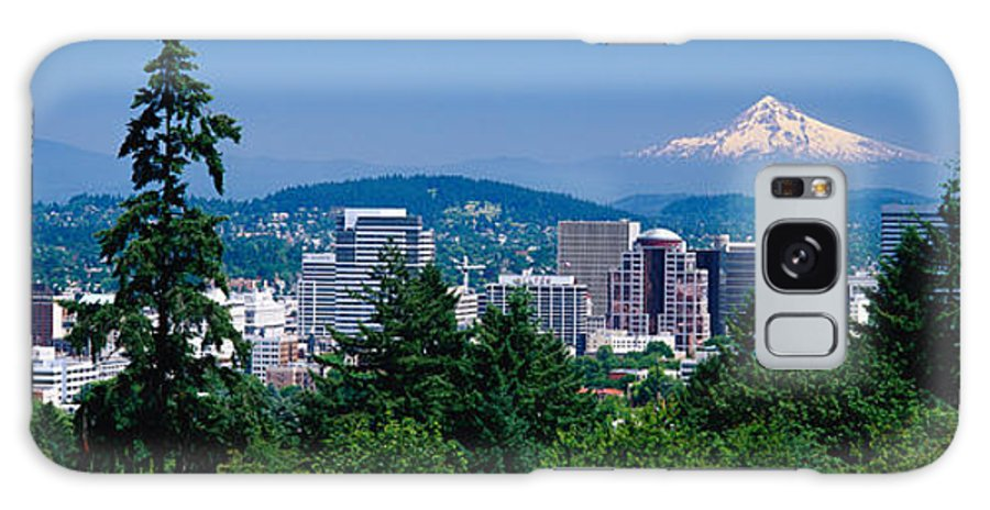 Photography Galaxy S8 Case featuring the photograph Mt Hood Portland Oregon Usa by Panoramic Images