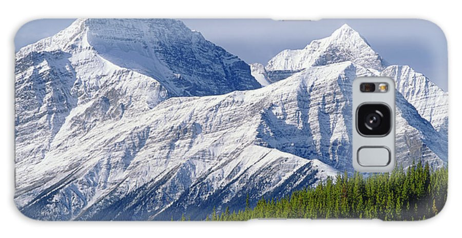 Mt. Outram Galaxy S8 Case featuring the photograph 1m3627-mt. Outram And Mt. Forbes by Ed Cooper Photography