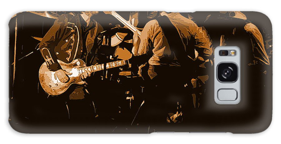 Marshall Tucker Band Galaxy S8 Case featuring the photograph Mtb Jamming 1976 by Ben Upham