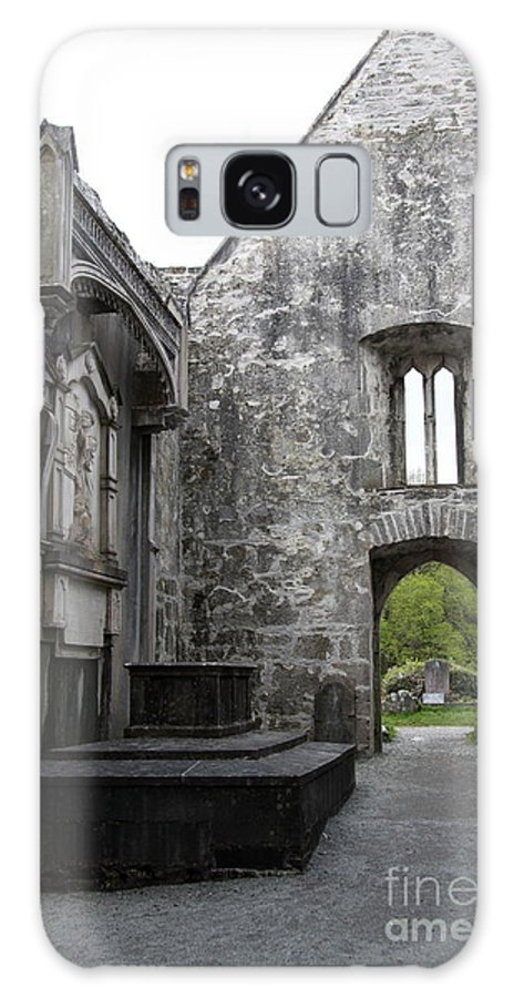 Muckross Abbey Galaxy S8 Case featuring the photograph Muckrooss Abbey Ruin by Christiane Schulze Art And Photography