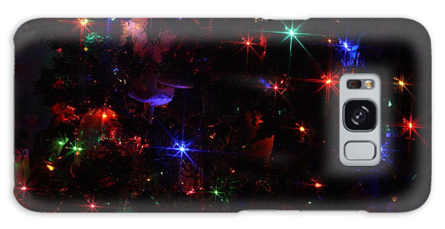 Lights Galaxy S8 Case featuring the photograph Multi Lights Decorations by Connie Mueller