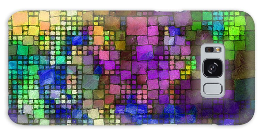 Multitude Galaxy S8 Case featuring the digital art Multitude-03 by RochVanh