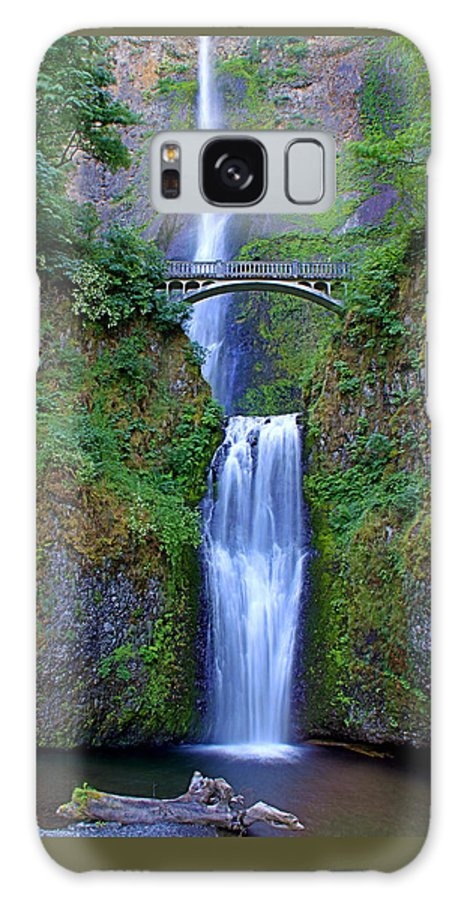 Falls Galaxy S8 Case featuring the photograph Multnomah Falls by John Absher