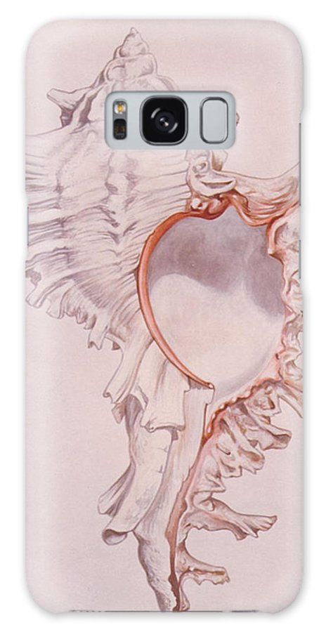Shell Galaxy S8 Case featuring the painting Murex Ramosus by Richard Ellis