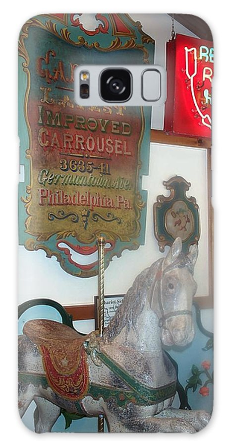 Antique Carousel Galaxy Case featuring the photograph Museum Pieces by Barbara McDevitt