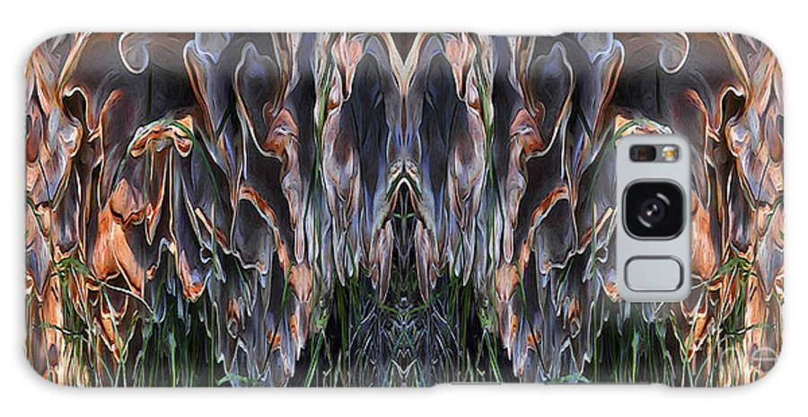 Abstract Photograph Galaxy S8 Case featuring the photograph Mushroom Abstract by Deena Athans