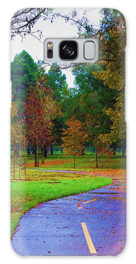 America Galaxy S8 Case featuring the photograph My Autumn by Heidi Smith