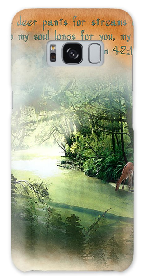 My Soul Longs For You Galaxy S8 Case featuring the painting My Soul Longs For You by Jennifer Page