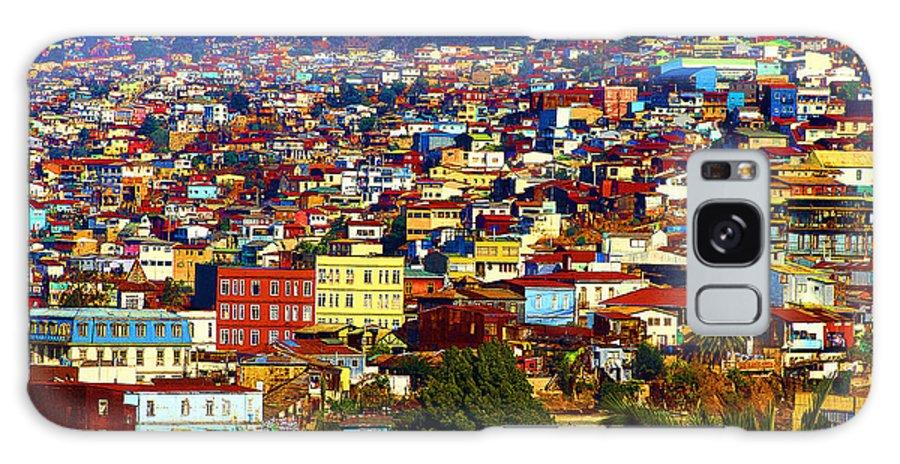 Valparaiso Galaxy S8 Case featuring the photograph My Valparaiso by Kurt Van Wagner