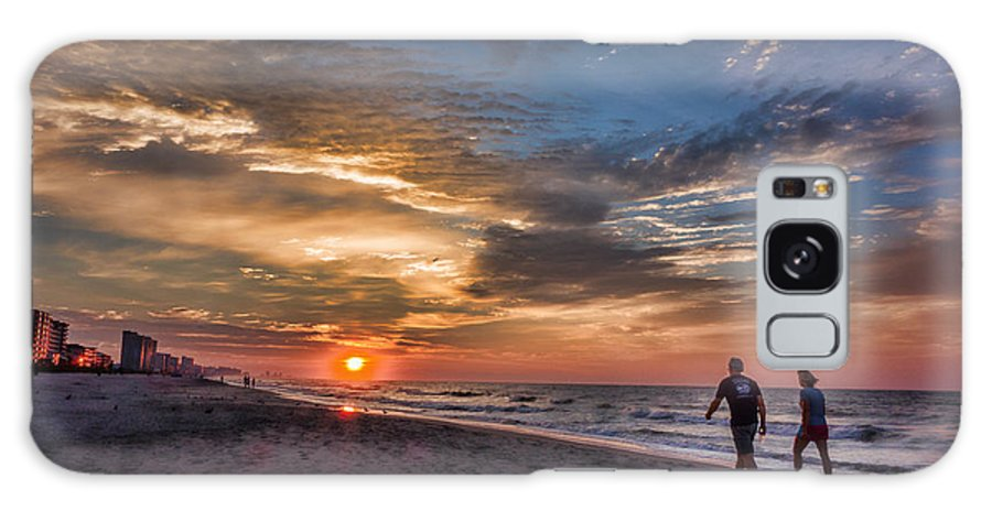 Sunrise Galaxy S8 Case featuring the photograph Myrtle Morning by Ches Black