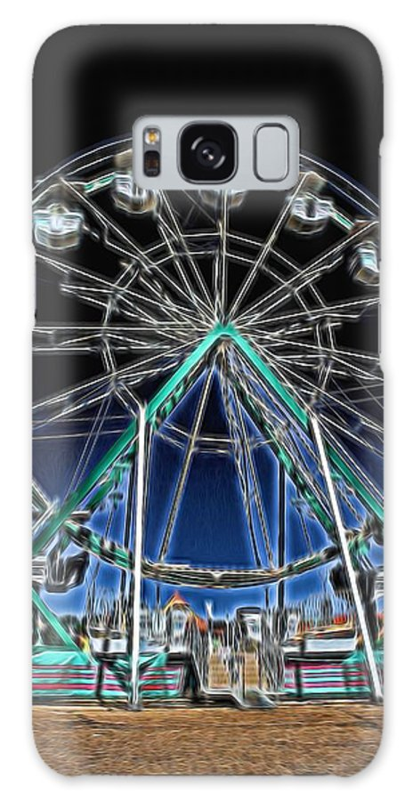 Ferris Wheel Galaxy S8 Case featuring the photograph Mystery Wheel - 2 by Becca Buecher