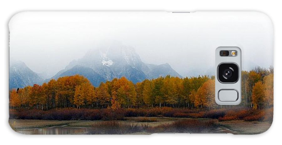 Fall Galaxy S8 Case featuring the photograph Mystic Grand Teton by Carol Montoya